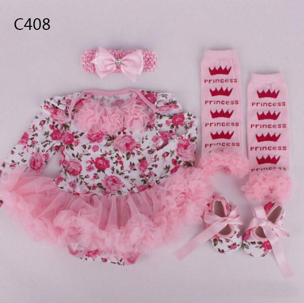 Babykleidung Kleid Bebe Weihnachten 9