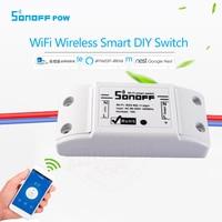 New Itead Sonoff Smart Wifi Switch Intelligent Universal Wireless DIY Switch MQTT COAP Android IOS Remote
