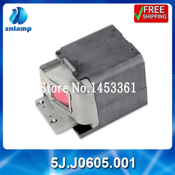 Фотография High quality replacement projector lamp bulb5J.J0605.001 for MP780ST