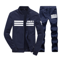 Bolubao Spring Men Set Quality Fleece Sweatshirt Pants Male Tracksuit Sporting Sweat Suits Mens Survetement Sportswear