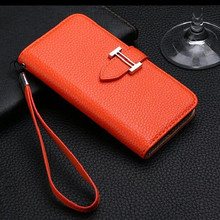 Fashion Wallet Stand Leather Case for iPhone X 7 8 Plus Luxury Cover Flip Phone Bag Case for iPhone 6 6S Plus with Card Slots
