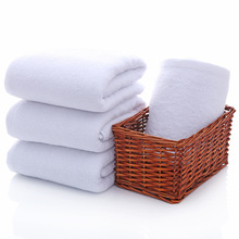 Wholesale 2pc/lot Bath towel 500g cotton towel star hotel white bath towel 140x70cm 500g lot gmp