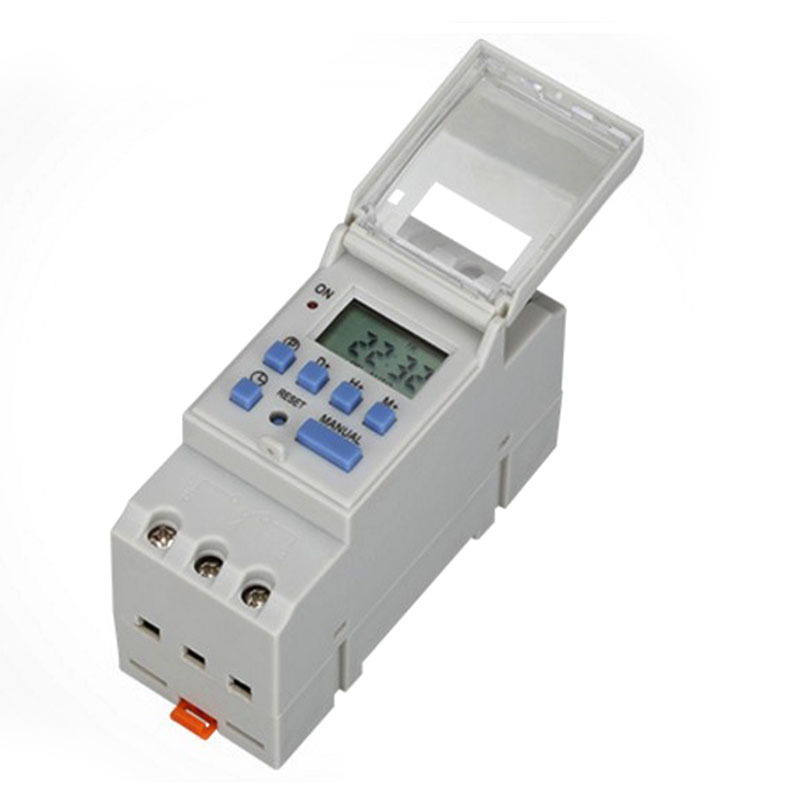 25A 16A 220V AC 230V 110V/ DC 24V 12V AHC15A THC15A Din Rail Digital Timer Time Switch Relay Daily/Weekly Programmable new high quality 16a 220v ac digital lcd weekly programmable timer time relay switch ve505 t0 41