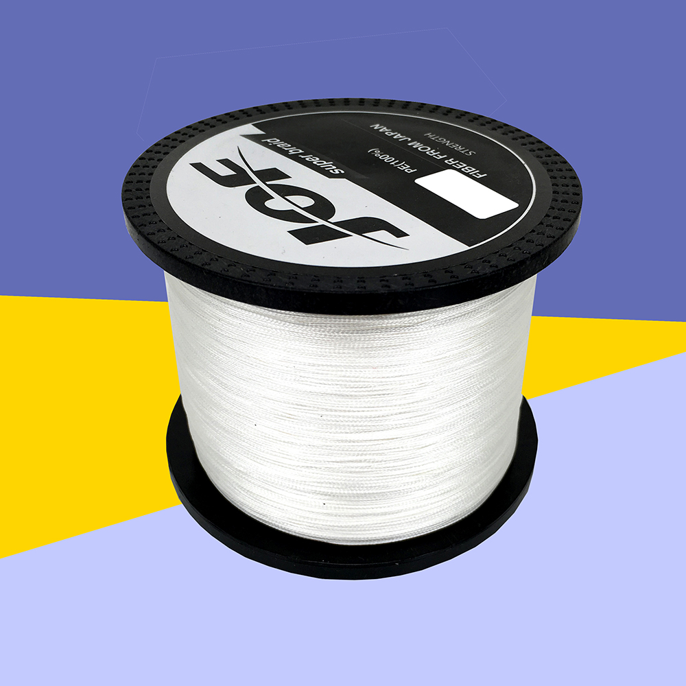 Jof 1000m pe multifilament braided fishing line super for Strong fishing line