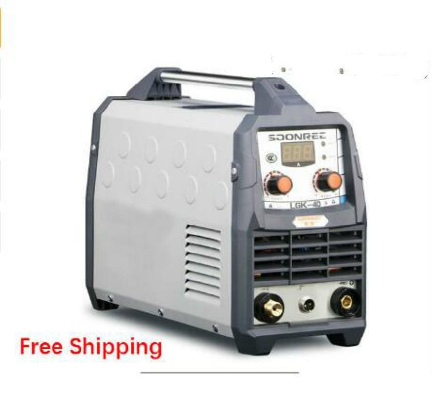 Freies verschiffen 2019 Neue Plasma Schneiden Maschine LGK40 CUT50 220 V Plasma Cutter Mit PT31 Freies Schweißen Zubehör
