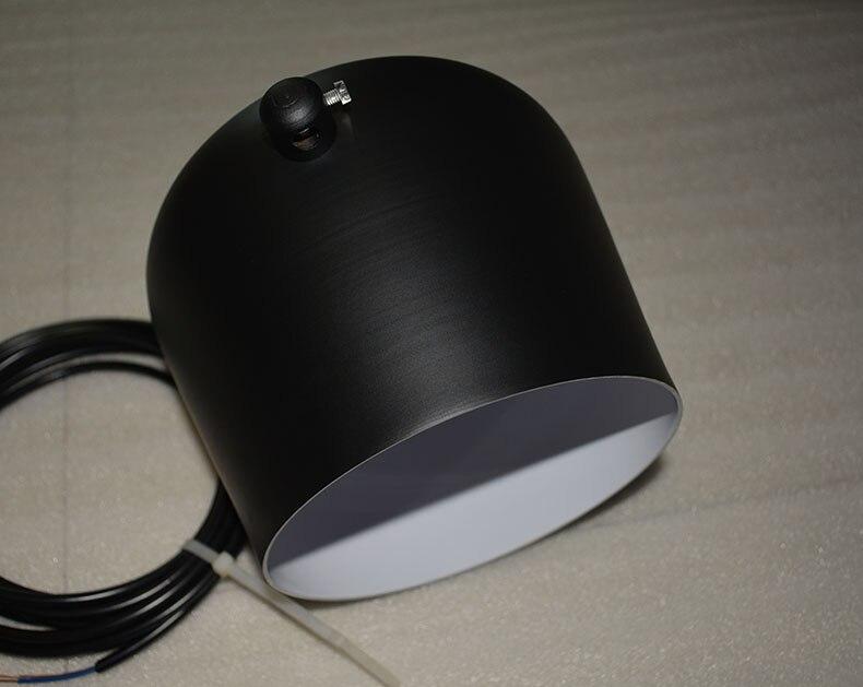 Nordic Personality Diy Spider Pendant Lamp Black Drum Shade Pendant