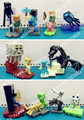 10 Шт./компл. Minecraft Стив Алекс Zombie Skeleton Enderman Игрушка сцена Игрушка Сборки Совместимы Действие Игрушки Фигурки Для Подарка