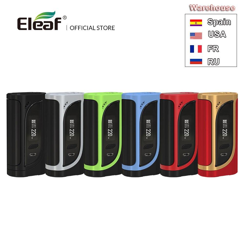 D'origine Eleaf iKonn 220 Mod sortie 220 W MAX puissance en watts boîte Mod Mode VW/TC sans batterie Cigarette électronique