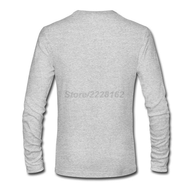 Fairy Tail Guild Logo Anime Casual Fashion Long Sleeves Men's T-shirt