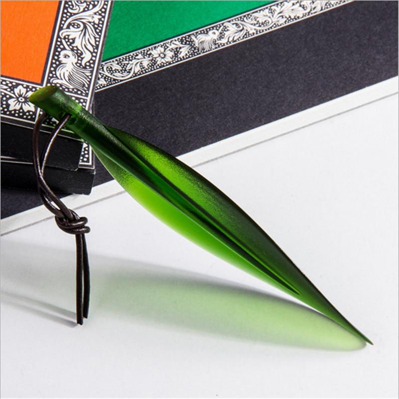 Elegant Watercolor Paper Lancet Cutter Sharp Letter Opener Mail Envelope Utility Tools Art Supplies
