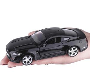 Image 4 - 1:36 legering trek auto modellen, hoge simulatie Ford Mustang 2015GT speelgoed, speelgoed voertuigen, educatief speelgoed, gratis verzending