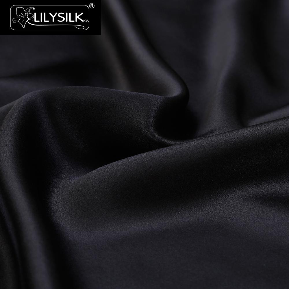 NEW LILYSILK 19 Momme Terse Silk Pillowcase for Hair and Skin With Piping Zipper