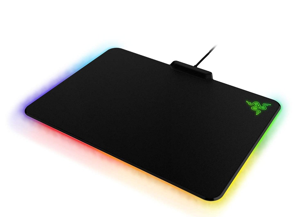 Razer luciole Chroma, 16.8 millions de Base en caoutchouc antidérapant rétroéclairé RGB-alimenté par Razer Chroma-tapis de souris de jeu - 4