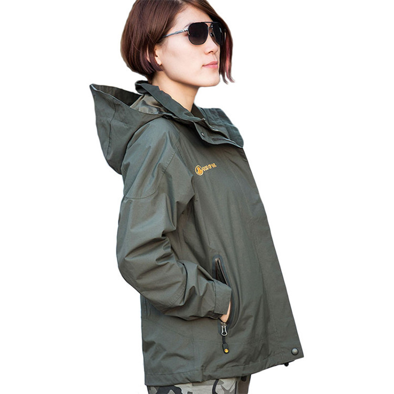 Upgraded Women Spring Winter Windbreaker Outdoor Camping Hiking Loose Coat Tactical Military Combat Training Windproof JacketUpgraded Women Spring Winter Windbreaker Outdoor Camping Hiking Loose Coat Tactical Military Combat Training Windproof Jacket