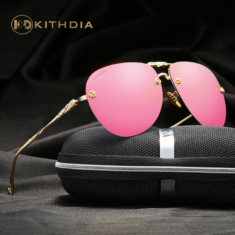 KITHDIA Women HD Polarized Lens Sunglasses Brand Design Summer Style Sun glasses Eyewear UV400 Sunglasses With Package #KD2513