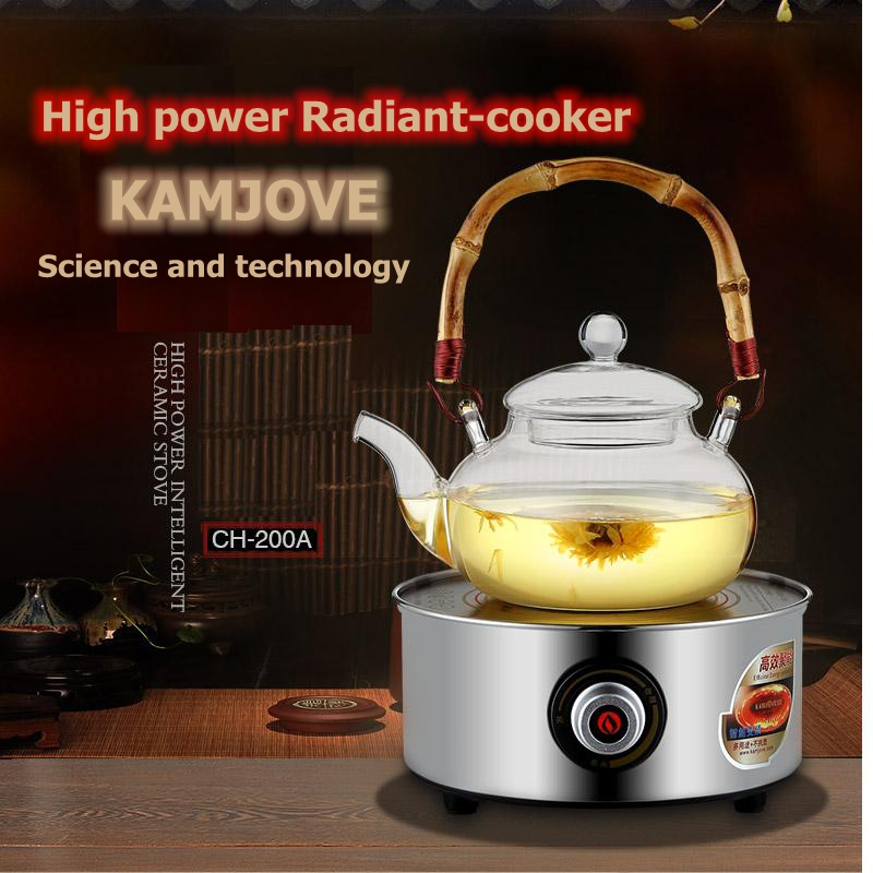 KAMJOVE CH 200A Radiant cooker cast iron pot of tea stove cooked this teapot tea stove