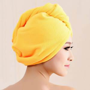 Hat Diffuser Dry-Hat Superfine-Fiber for Bathing Cap Head-Towel Shower-Cap Water-Absorbing