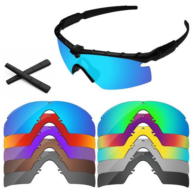 f0c10be2db PapaViva Polarized Replacement Lens   Black Earsocks for Authentic SI  Ballistic M Frame 2.0 Sunglasses Frame - Multiple Options