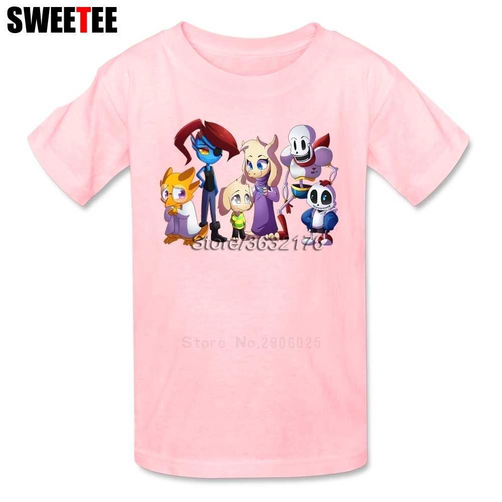 Undertale Sans Boy Girl T Shirt Baby Clothing 2018 Infant Cotton Tshirt  Crew Neck Kid children s 3a7b7f997bc3