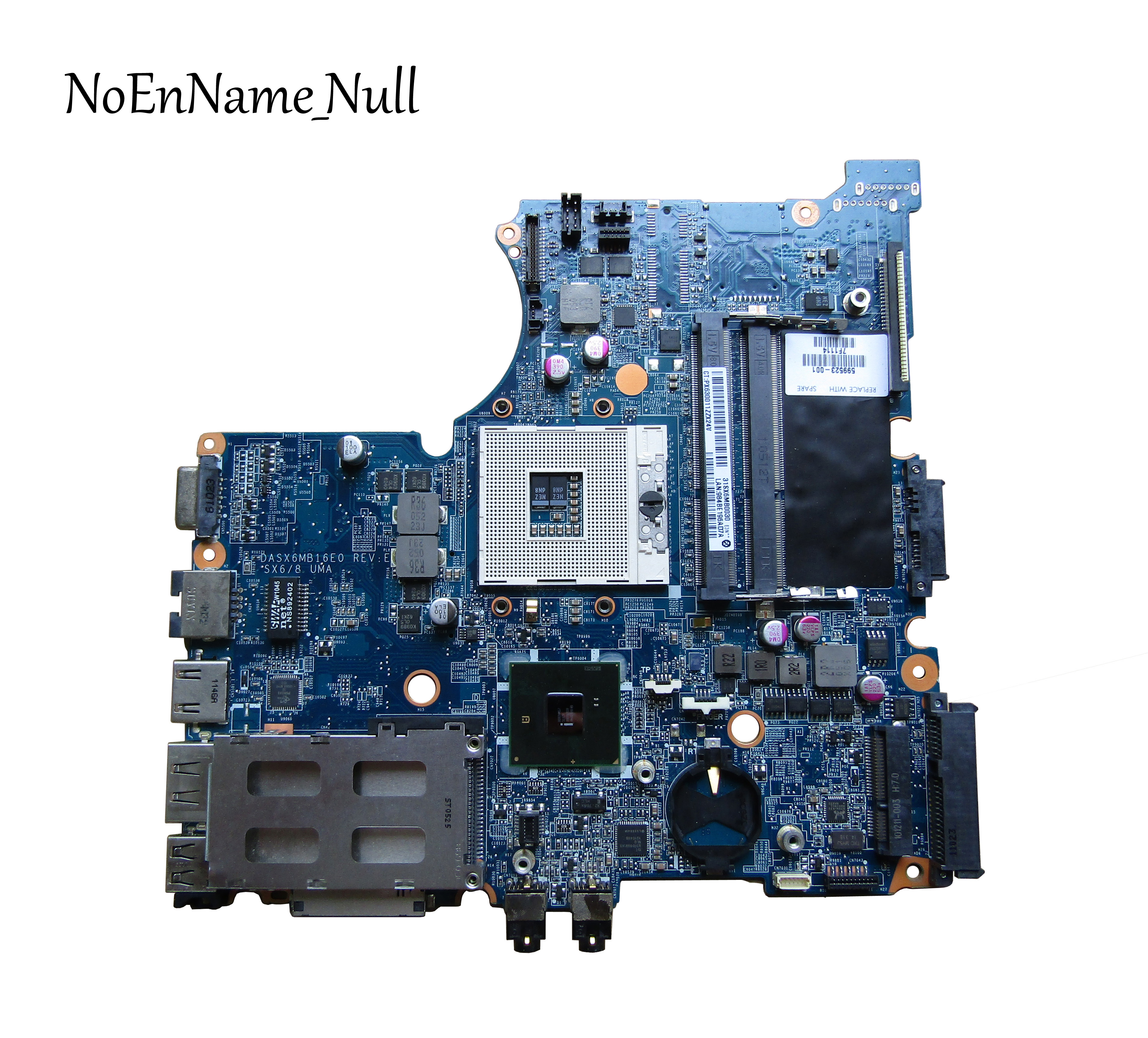 Free Shipping For HP PROBOOK 4420s  Laptop Motherboard 599523-001 DASX6MB16E0 100% Test Good