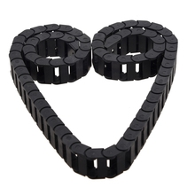 цена на 10 x 20mm 1M Open On Both Side Plastic Towline Cable Drag Chain