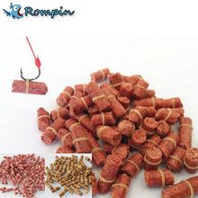 Rompin 100pcs/bag Red carp fishing bait smell Grass Carp Baits Fishing Baits lure formula insect particle rods suit particle(China)