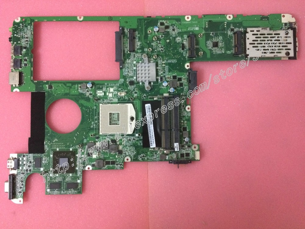 ФОТО Working perfectly For Lenovo Y560 Motherboard DAKL3AMB8E0 DAKL3AMB8G1 Main card with ATI video card (Support I3 I5 I7 cpu)