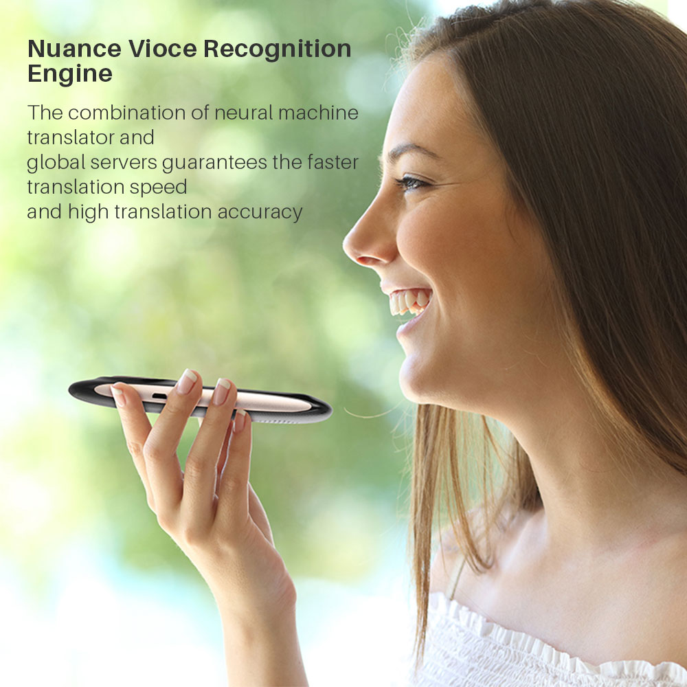 Image 5 - Smart Portable Instant Voice Translator Support 70 Countries Language Two way Translation Multi Language Translator Voice-in Translator from Consumer Electronics
