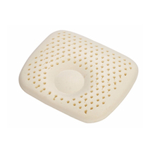 Ventilated 100% Natural Latex Contour Pillow With Polyester inner cover and Natural Bamboo Outer Cover Children Size