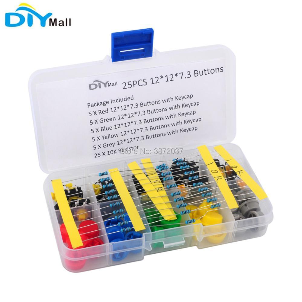 10Pcs 6x6mm Button Module Tact Tactile Switch Module Keyboard BBC