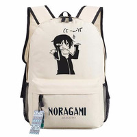Noragami ARAGOTO Cosplay Backpack Anime YATO oxford Schoolbags Fashion Unisex Travel Laptop Bag Gift 45x32x13cm