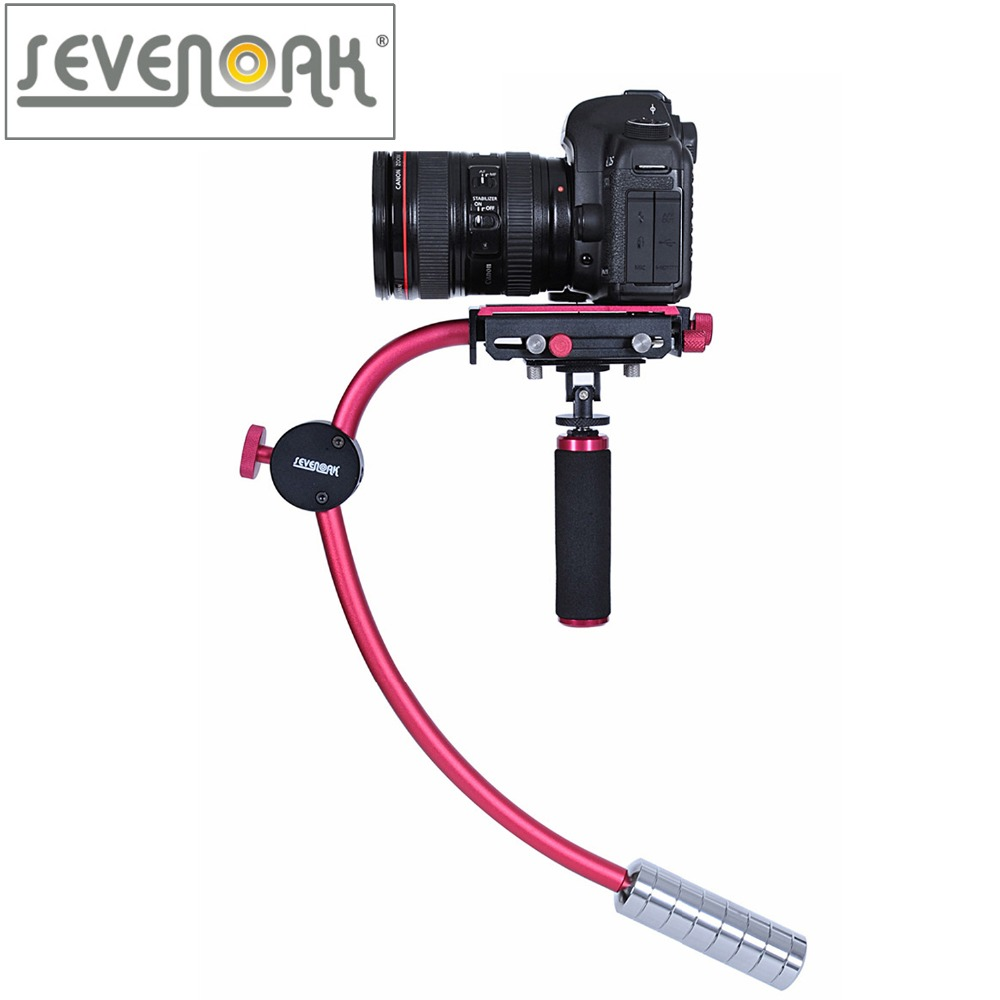 Sevenoak SK-W01 Handheld Camera Stabilizer Steadycam for Canon Nikon Sony Video Cameras DSLR Camcorders ashanks hd2000 handheld stabilizer for camcorders slr dslr 7d 600d 700d d5200 d3200 video camera