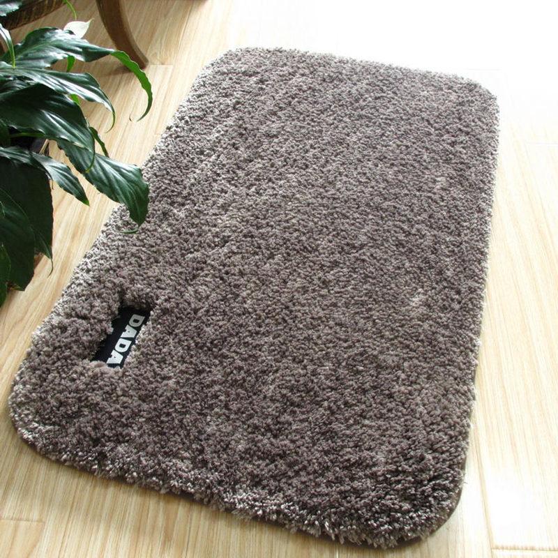 lusso fluffy bagno tappetino da bagno 5 colori tappetino tappeto materasso per il bagno assorbimento 3