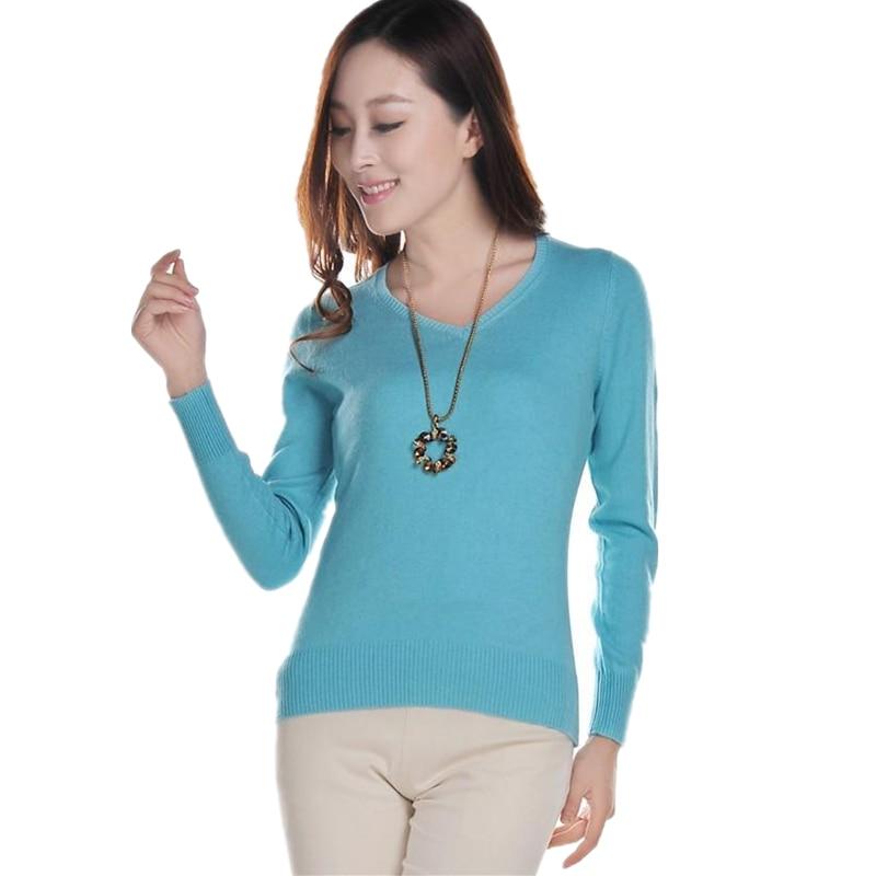 11.11 jaunais džemperis sieviešu jaka ar kašmira džemperi V-kakla - Sieviešu apģērbs
