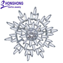 2017 High Quality Botany sun flower brooches pin for women wedding bouquets brooches crystal fashion Jewelry