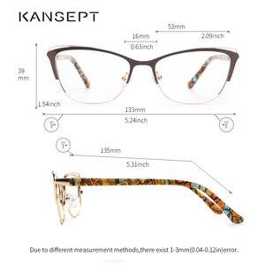 Image 2 - ผู้หญิงแฟชั่น CAT EYE แว่นตากรอบแว่นตากรอบแว่นตา Retro แว่นตาคอมพิวเตอร์โปร่งใสแว่นตาสำหรับผู้หญิง