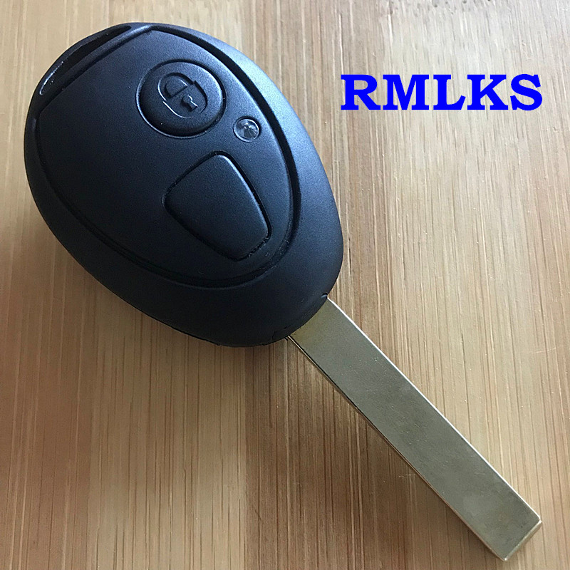 Remote car Key Shell Key Case For MG7 For Mini Cooper S R50 R53 Rover 75 Z3 Z4 X3 X5 E46 E39 E36 E34 Blank Transponder Key(China)