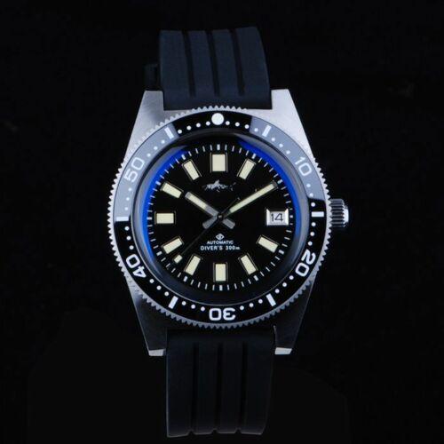 62MAS Mechanical automatic diver sapphire 300m water resistance mens watch62MAS Mechanical automatic diver sapphire 300m water resistance mens watch