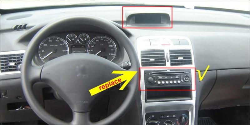 Peugeot 307 2002~2011 fit1