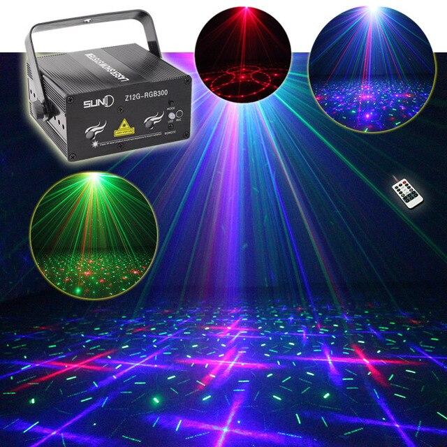SUNY Remote RGB Laser Xmas Podiumverlichting Z12G RGB300 Mengen ...