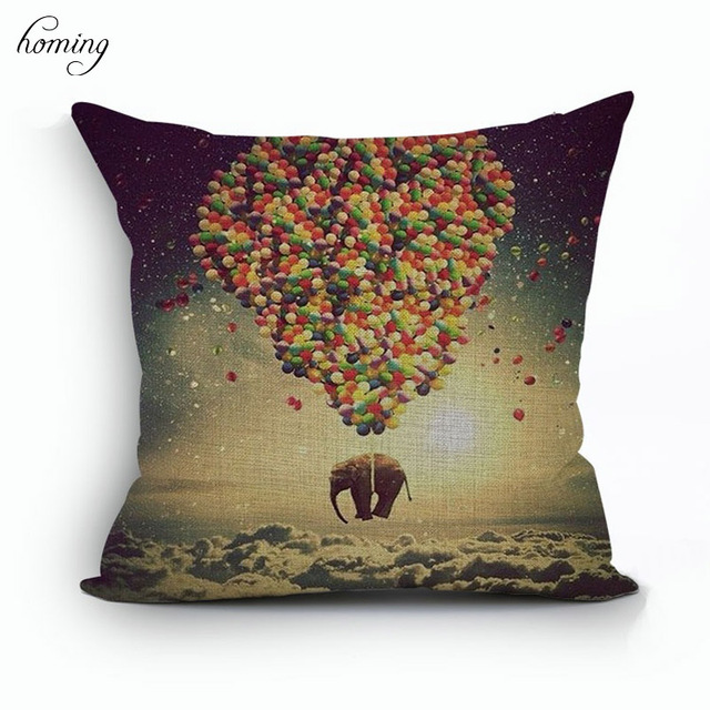 Homing Fashion Pattern Cushion Cover Printed Knitted Cushion Cover