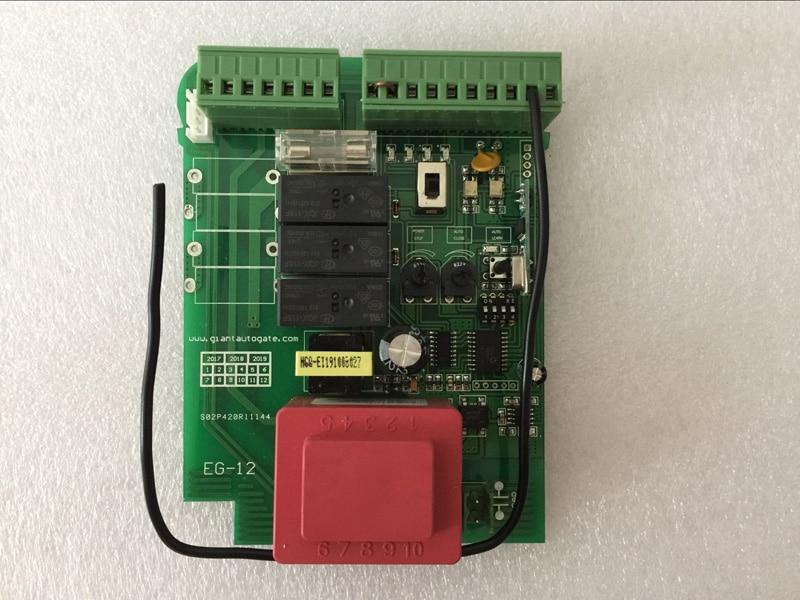 Input AC220V sliding gate opener motor pcb circuit board controller card for motor control board