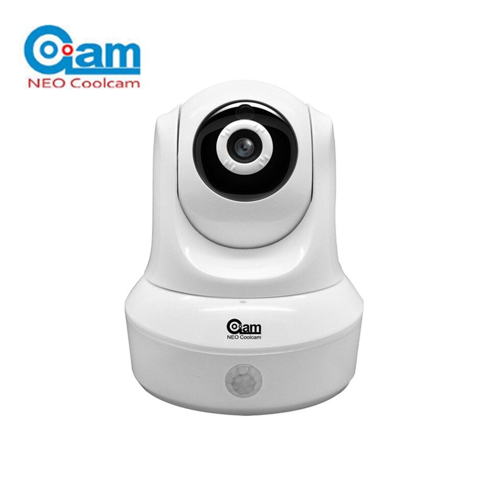 НЕО COOLCAM NIP-25SY 1080 P Беспроводной IP Камера Wi-Fi безопасности Камера Видеоняни и радионяни Ночное видение встроенный движения PIR Сенсор