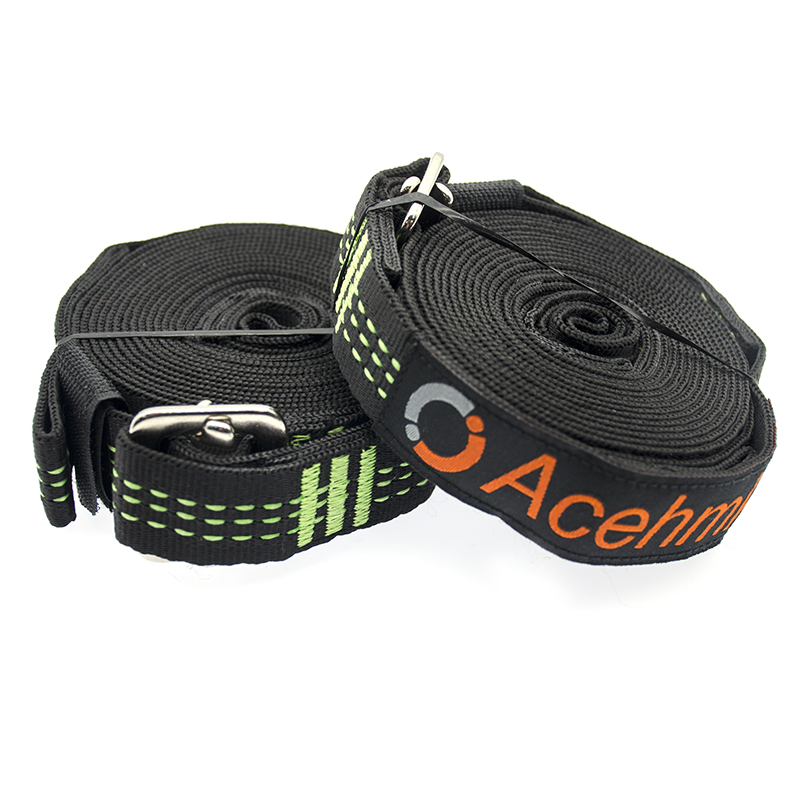Strong Hammock Cinch Buckle Tree Strap Hanging Hammock Webbing Belt Hamaca For Camping Portable Hanging Tree Rope 330CMX2PCS(China)