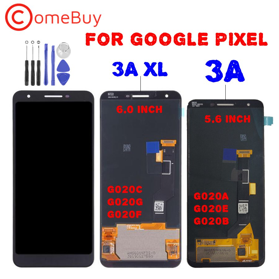 For Google Pixel 3A LCD Display Touch Screen Digitizer For Google Pixel 3A XL LCD G020A