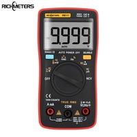 RM111 NCV True RMS Digital Multimeter Auto Range 9999 Counts 100M Ohm Temperature Back Light AC