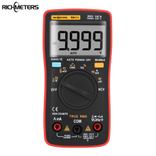 RM111 NCV True-RMS Digital Multimeter Auto Range 9999 counts 100M Ohm Temperature Back light AC/DC Voltage Ammeter Current Meter купить недорого в Москве