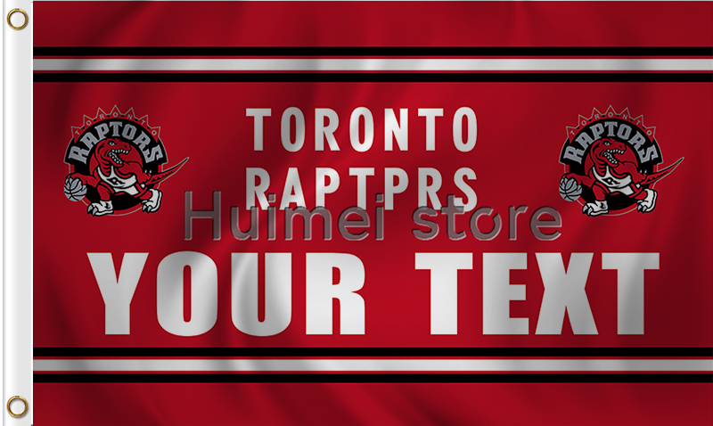 size 40 a767b b6969 3x5ft Toronto Raptors flag basketball team Your text flag-in ...