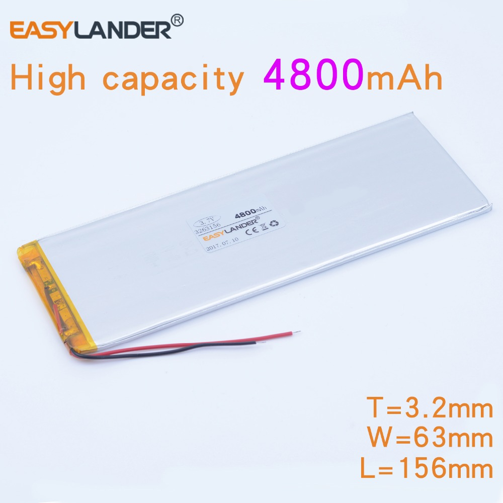 3263156 3.7V 4800mAh Rechargeable li Polymer Li-ion Battery For Tablet PC CHUWI Hi8 hi8 pro xv8 DVD DVR 3565155 3263158 2016 new fashion keyboard for chuwi hi8 pro tablet pc for chuwi hi8 pro keyboard with mouse