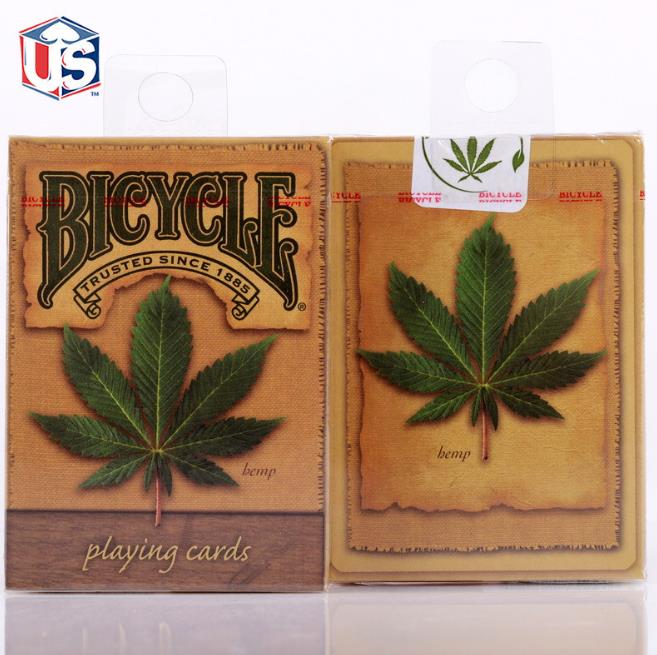 Free shipping Hemp Edition BICYCLE Premium Poker Playing Cards Deck BRAND NEW & SEALED Magic Tricks стоимость